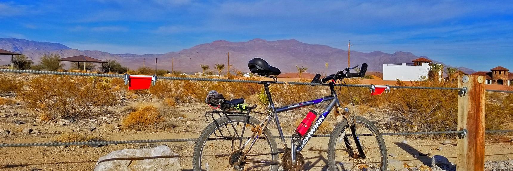 Trails Area at Southern Floyd Lamb Park on Rachel | Snapshot of Las Vegas Northern Growth Edge on January 3, 2021