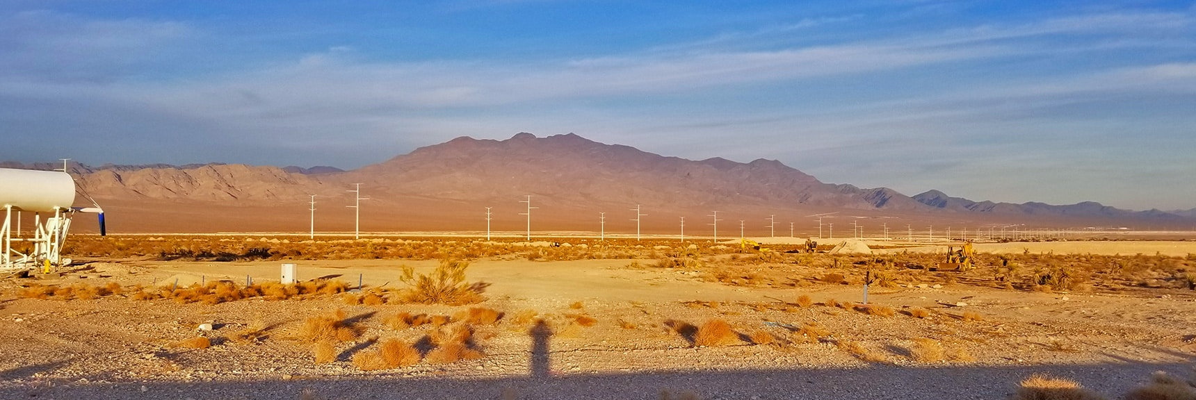 View from Skye Point Dr Toward Gass Peak | Snapshot of Las Vegas Northern Growth Edge on January 3, 2021