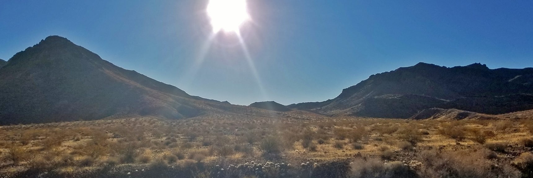 Starting Up the Route from Northshore Rd Mile 18 to Hamblin Mt. | Hamblin Mountain, Lake Mead National Conservation Area, Nevada