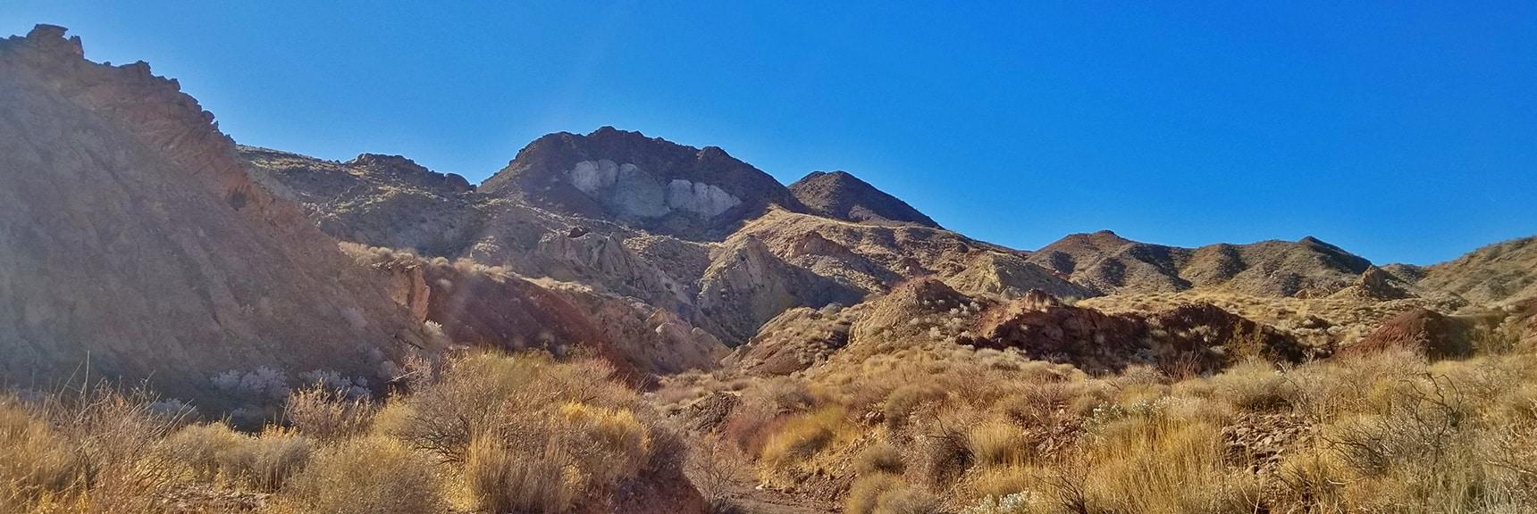 High Points From the Canyon Washes Toward Hamblin Mt. | Hamblin Mountain, Lake Mead National Conservation Area, Nevada