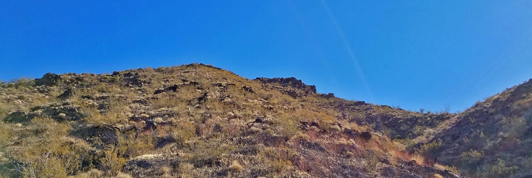 Ascending an Avalanche Slope Toward Hamblin Mt. | Hamblin Mountain, Lake Mead National Conservation Area, Nevada