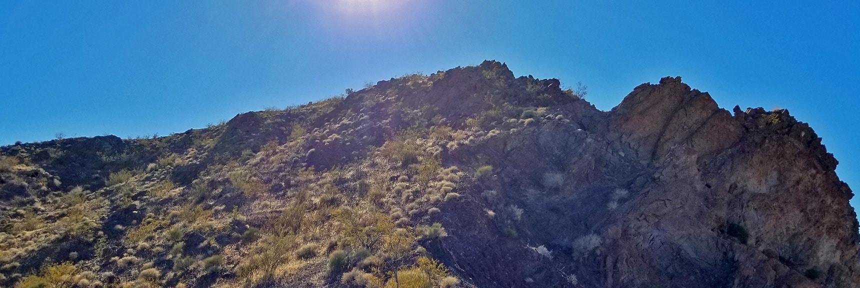 Approaching Hamblin Mt. Summit | Hamblin Mountain, Lake Mead National Conservation Area, Nevada