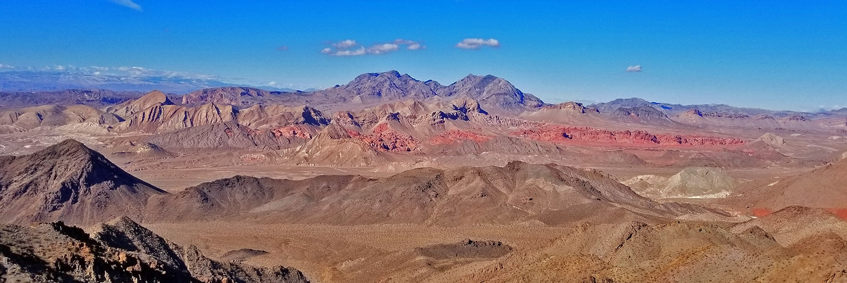 Bowl of Fire and Muddy Mts. From Hamblin Mt. Summit | Hamblin Mountain, Lake Mead National Conservation Area, Nevada