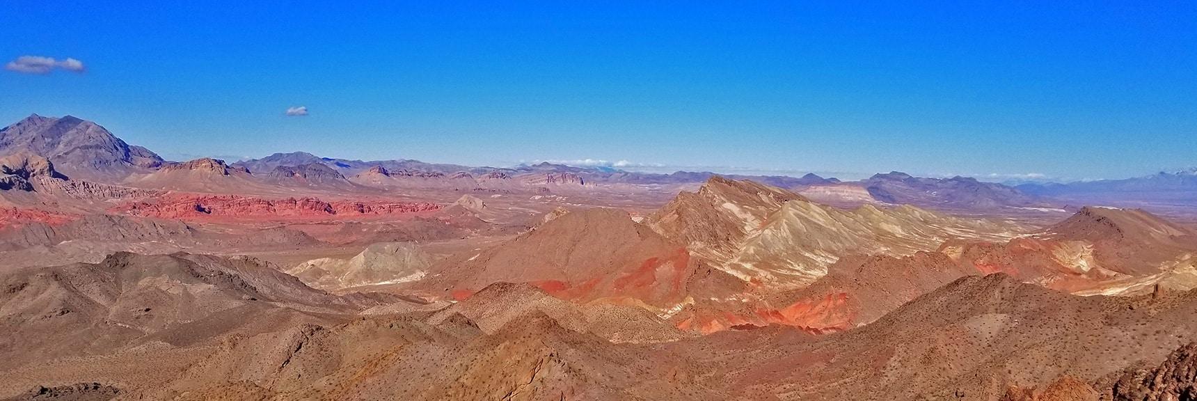 Northwest View from Hamblin Mt. Summit | Hamblin Mountain, Lake Mead National Conservation Area, Nevada