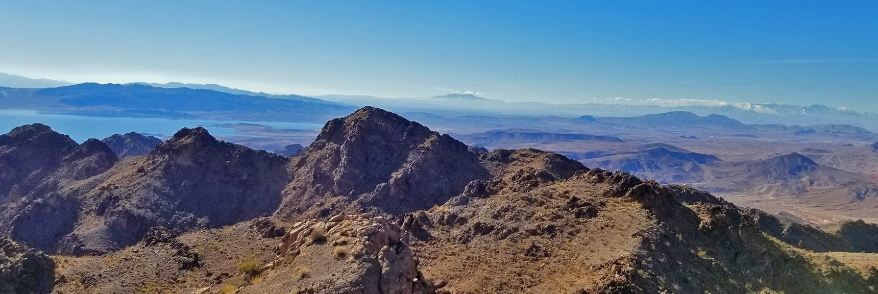 Lake Mead and Frenchman Mt Viewed from Hamblin Mt. Summit | Hamblin Mountain, Lake Mead National Conservation Area, Nevada