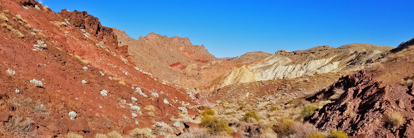 Returning to Northshore Rd. Through the Washes Below Hamblin Mt. | Hamblin Mountain, Lake Mead National Conservation Area, Nevada