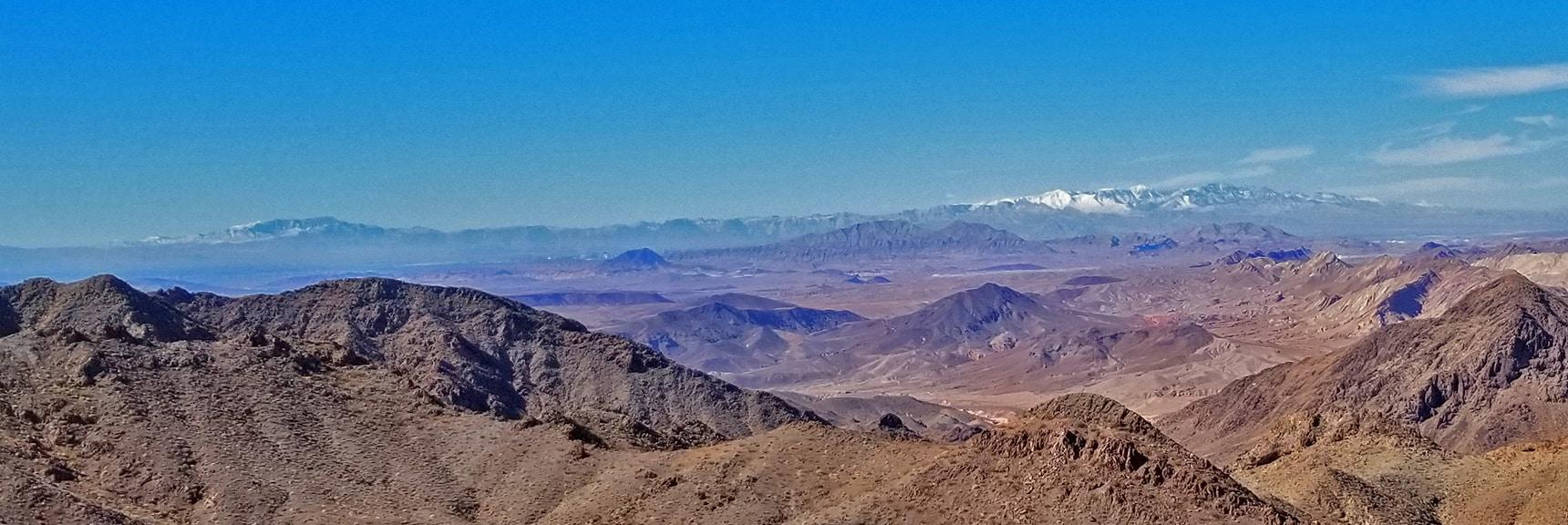 Potosi Mt, Rainbow Mts., Frenchman Mt., La Madre Mts., Mt Charleston Wilderness | Hamblin Mountain, Lake Mead National Conservation Area, Nevada