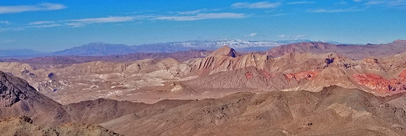 Gass Peak and the Sheep Range Far Distance | Hamblin Mountain, Lake Mead National Conservation Area, Nevada
