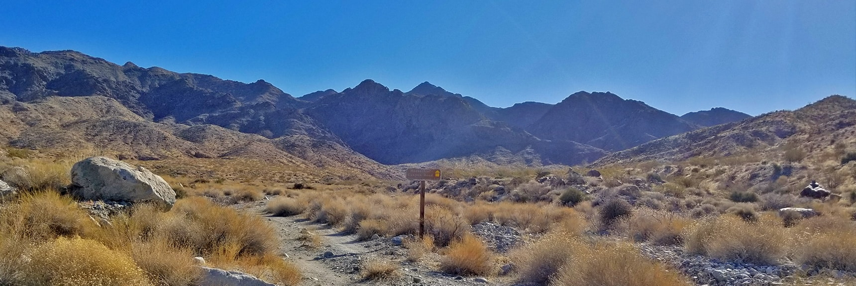 Closing In on the Upper End of Horse Thief Canyon Road | Mt Wilson, Black Mountains, Arizona, Lake Mead National Recreation Area