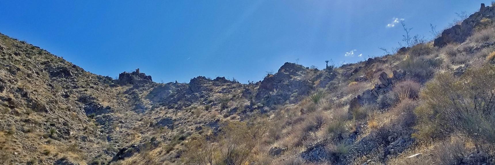 Next Ridge Above the Bowling Alley | Mt Wilson, Black Mountains, Arizona, Lake Mead National Recreation Area