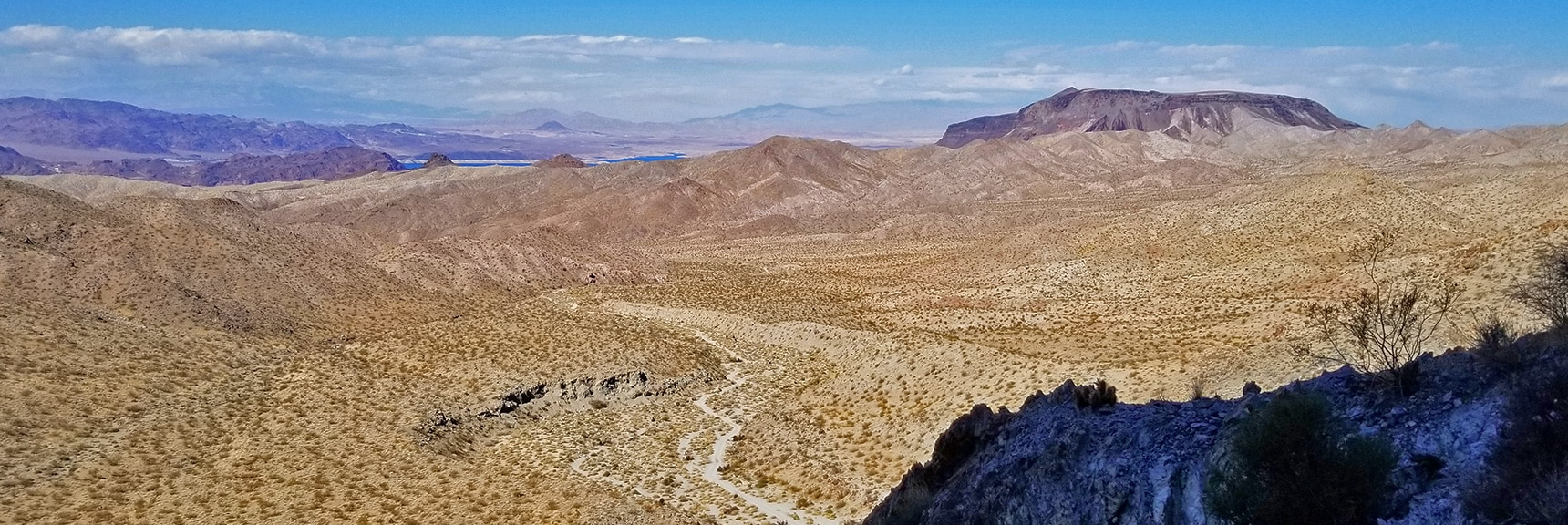 Horse Thief Canyon Road, Fortification Hill, Lake Mead, Frenchman Mt. Beyond | Mt Wilson, Black Mountains, Arizona, Lake Mead National Recreation Area