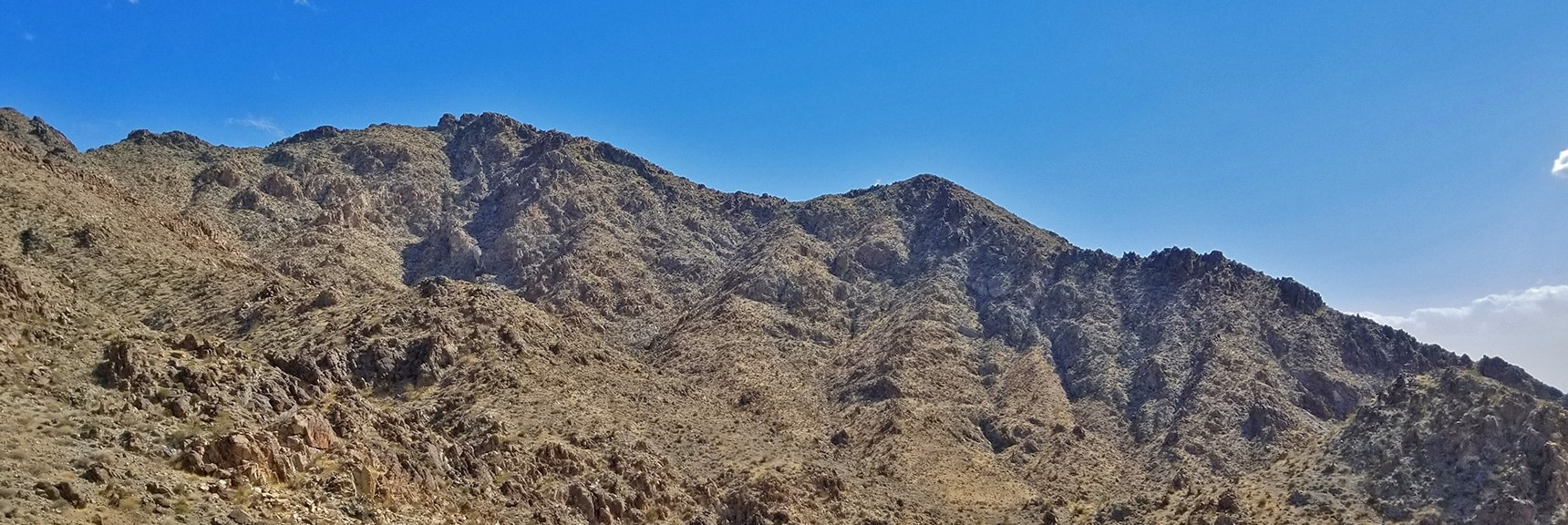 Ridge System Below Mt. Wilson | Mt Wilson, Black Mountains, Arizona, Lake Mead National Recreation Area