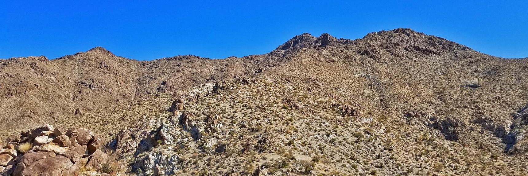 Mt. Wilson Western Approach Ridge | Mt Wilson, Black Mountains, Arizona, Lake Mead National Recreation Area