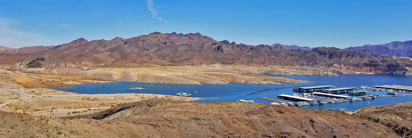 View Across Callville Bay Toward Hamblin Mountain Area   Callville Summit Trail   Lake Mead National Recreation Area, Nevada