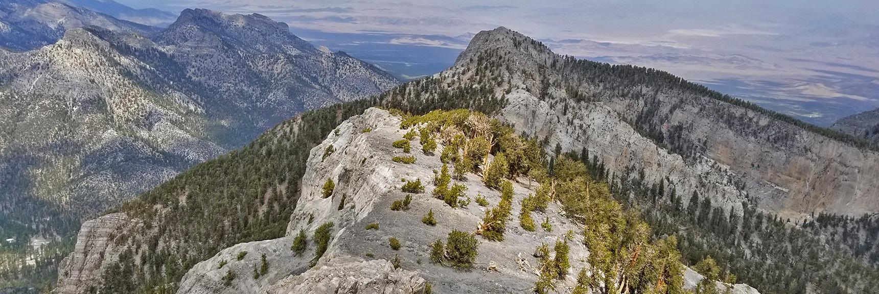 Mummy Mountain North Rim | Mt Charleston Wilderness | Spring Mountains, Nevada