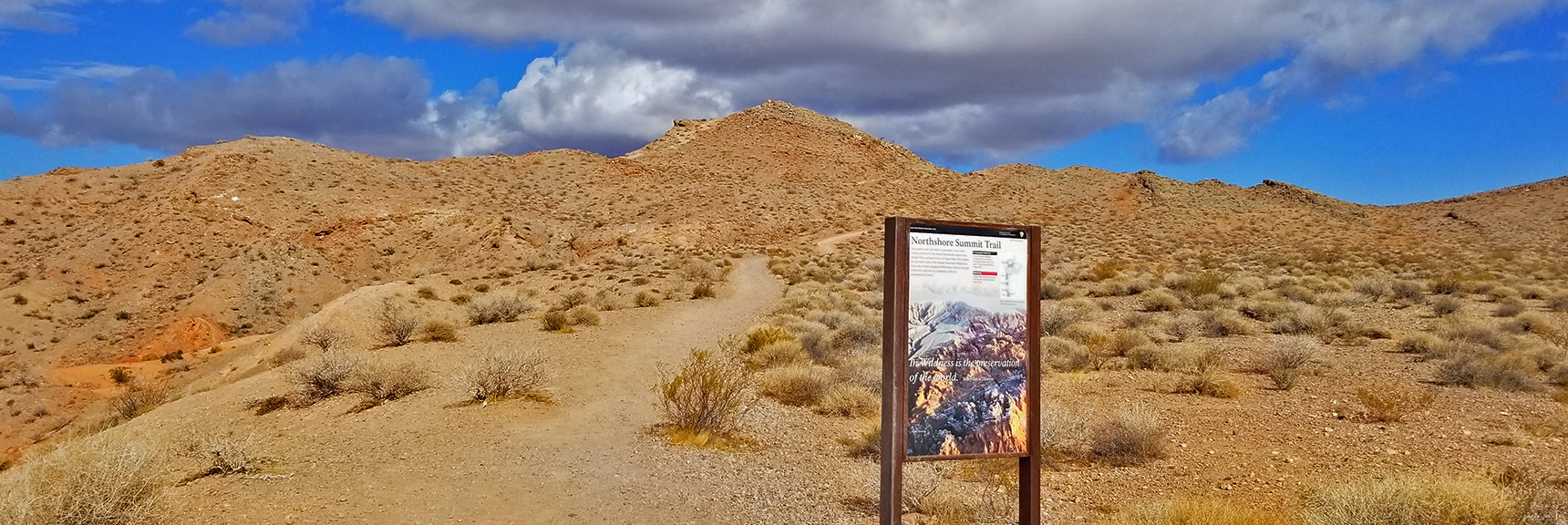 Trailhead to Northshore Summit and the Northern Bowl of Fire Beyond   Northern Bowl of Fire   Lake Mead National Recreation Area, Nevada