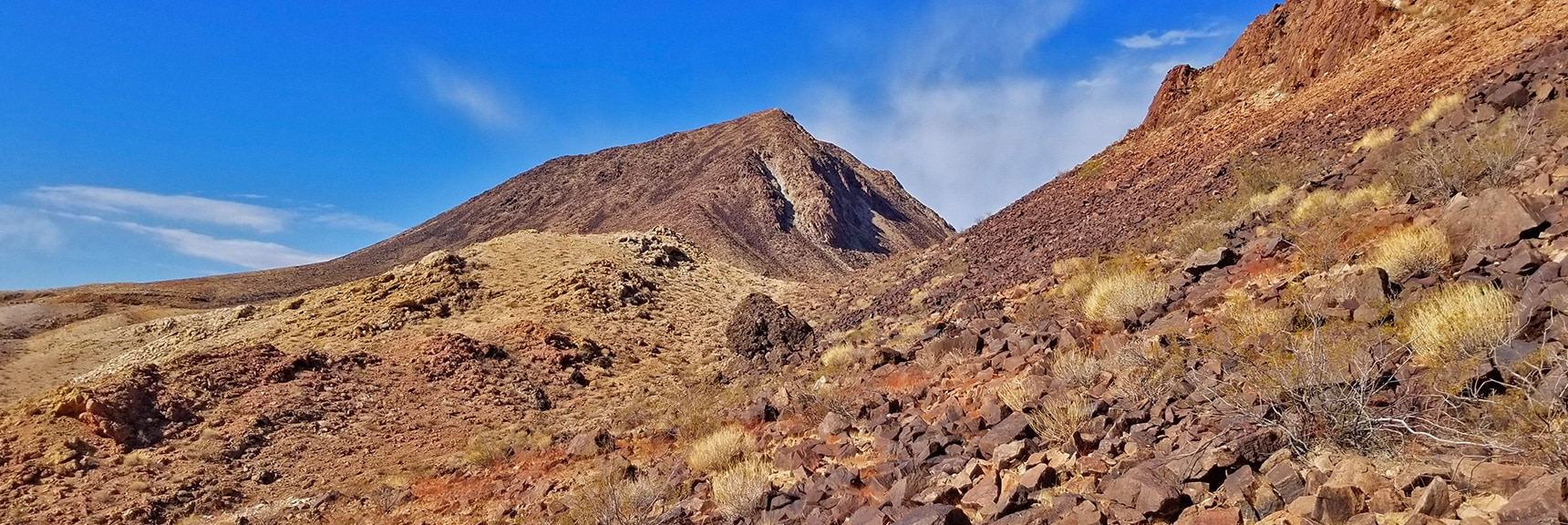 Skirting the East Side of a Ridge Just North of Lava Butte | Lava Butte | Lake Mead National Recreation Area, Nevada