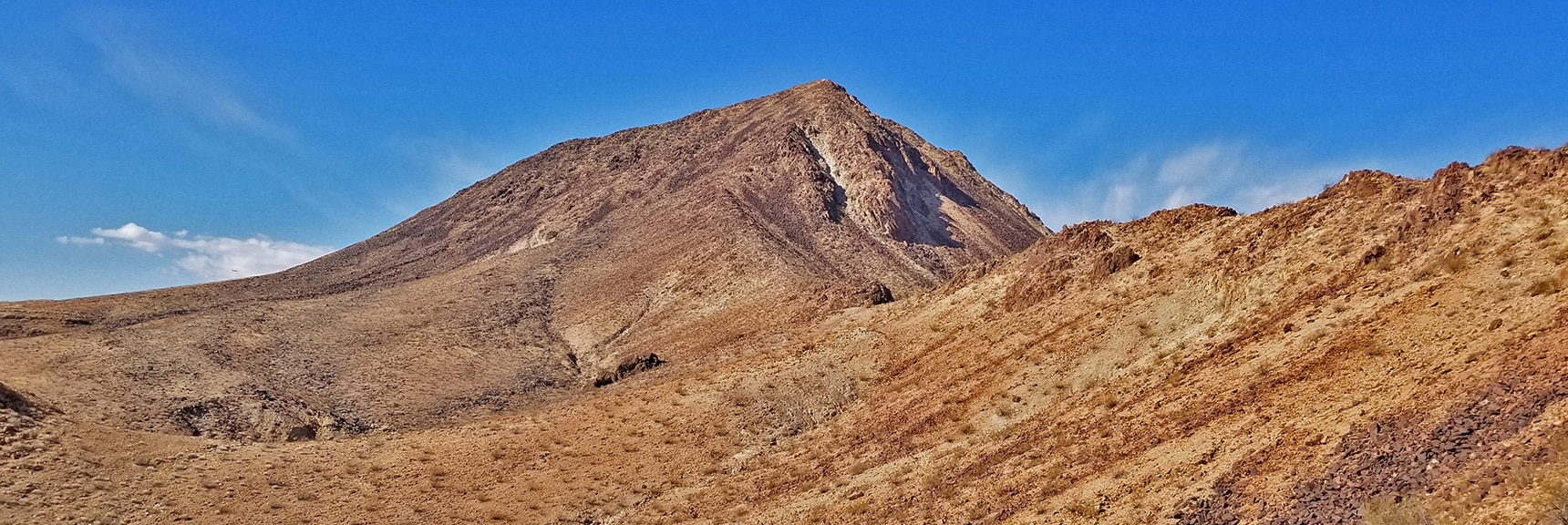 Closing In on the Base of Lava Butte | Lava Butte | Lake Mead National Recreation Area, Nevada