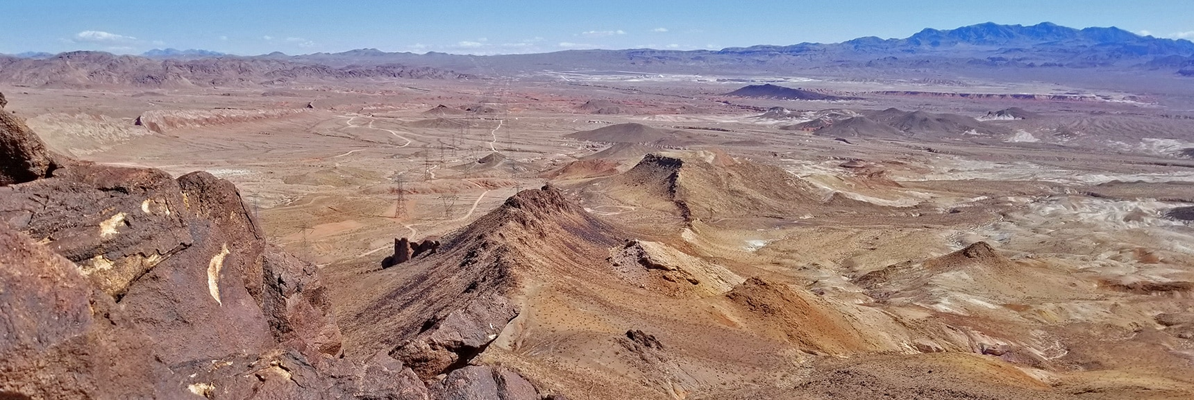 Looking Back North While Ascending the North Ridge of Lava Butte | Lava Butte | Lake Mead National Recreation Area, Nevada