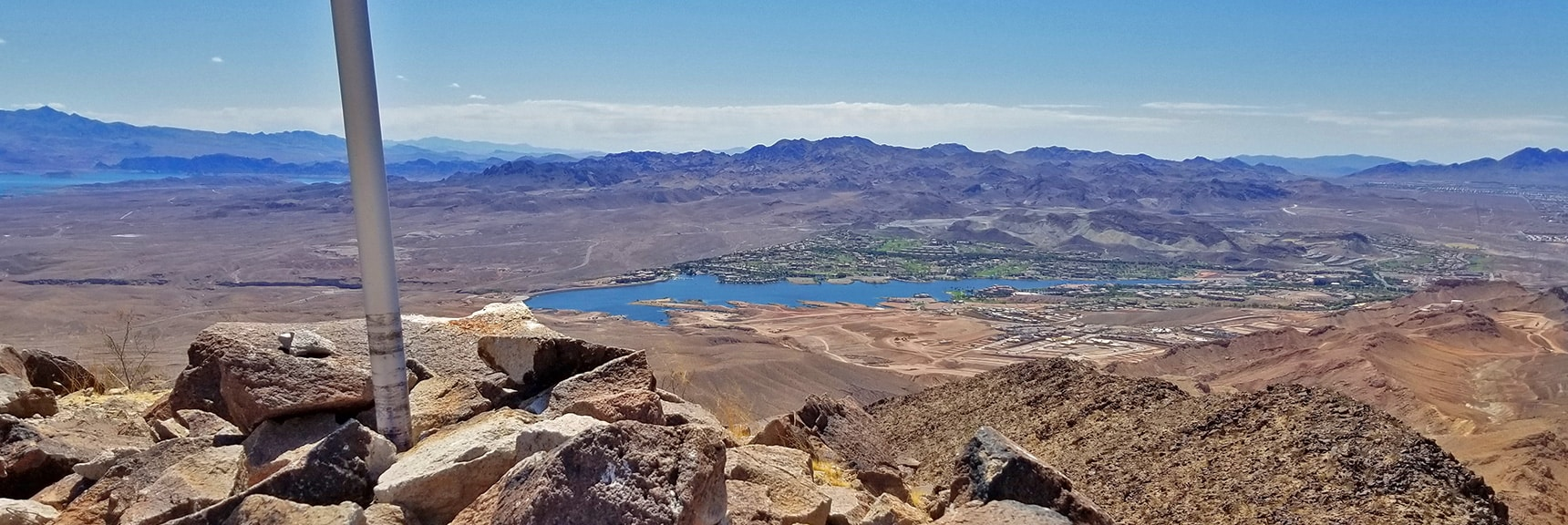 Lake Las Vegas from Lava Butte Summit | Lava Butte | Lake Mead National Recreation Area, Nevada
