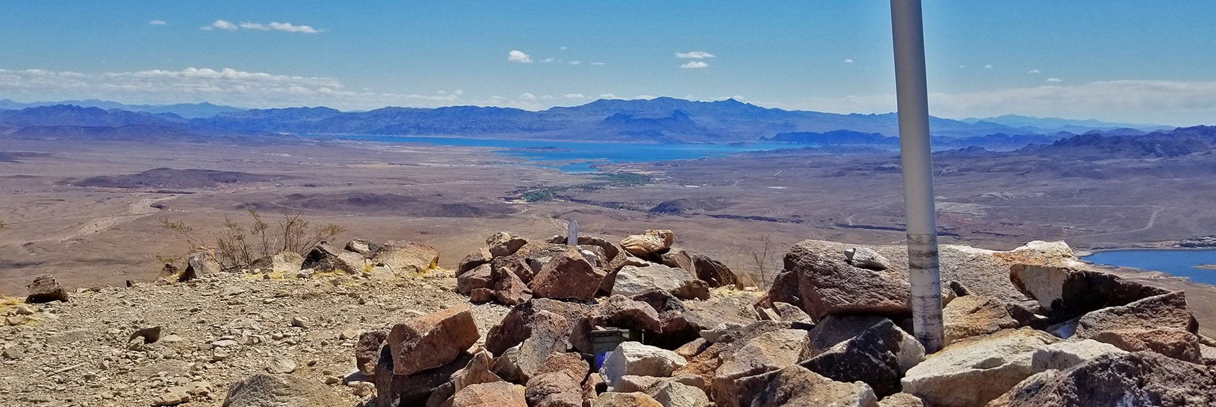 Lake Mead, Fortification Hill, Black Mesa, Hamblin Mts. Mt Wilson from Summit | Lava Butte | Lake Mead National Recreation Area, Nevada
