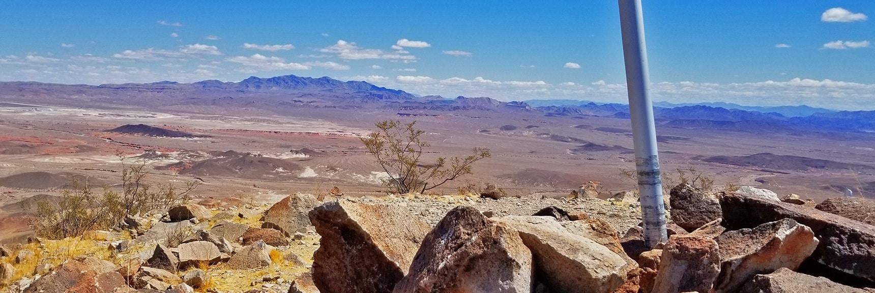 Muddy Mts., Anniversary Ridge, Black Mesa, Hamblin Mts. from Summit | Lava Butte | Lake Mead National Recreation Area, Nevada