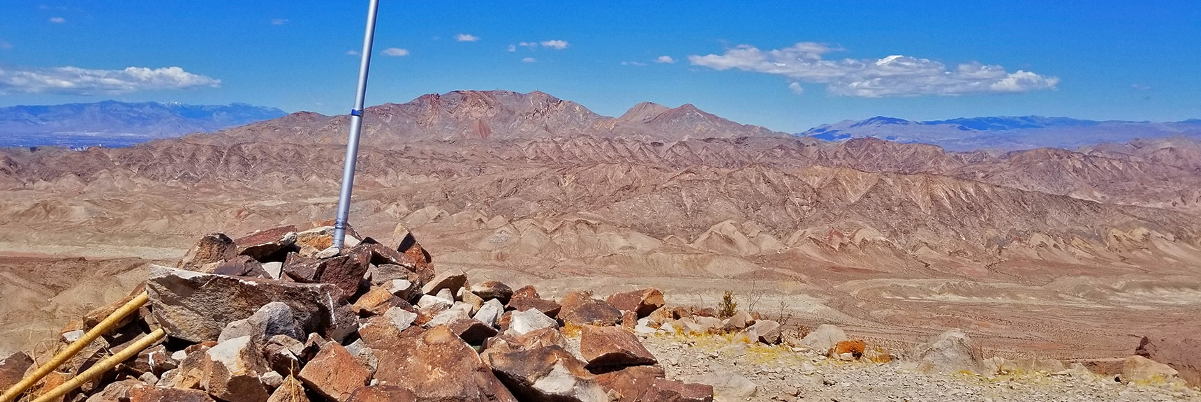 Frenchman Mt. and Mt. Charleston Wilderness from the Summit | Lava Butte | Lake Mead National Recreation Area, Nevada