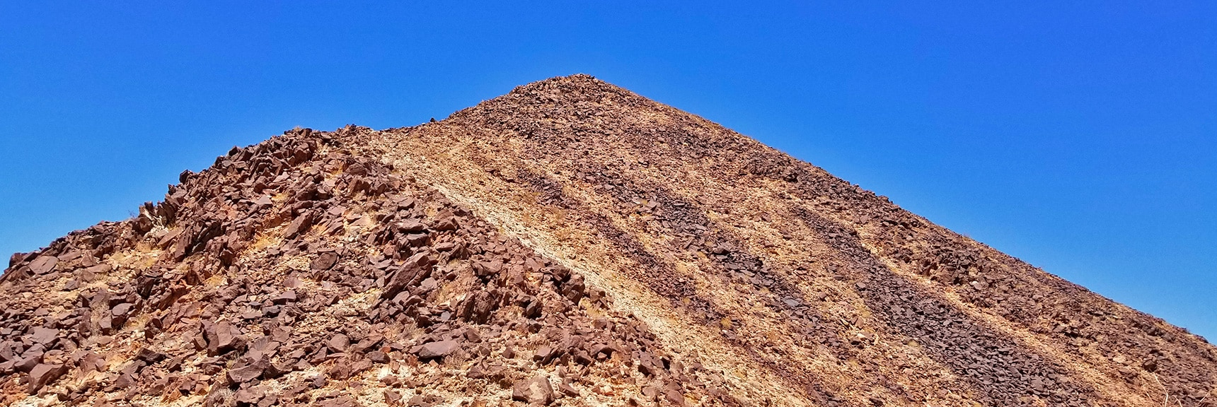 View Back up the South Ridge from Midway Down | Lava Butte | Lake Mead National Recreation Area, Nevada