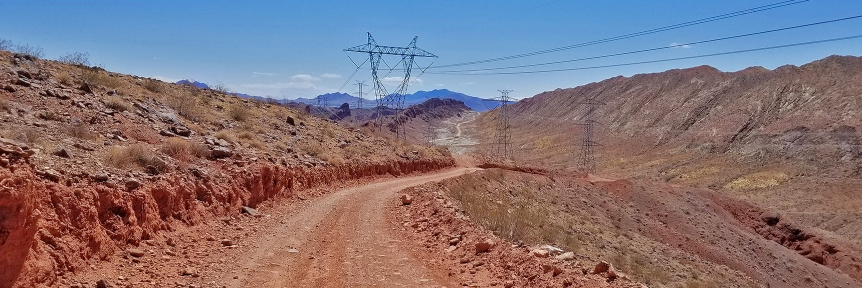 View Back South on Lava Butte Road | Lava Butte | Lake Mead National Recreation Area, Nevada