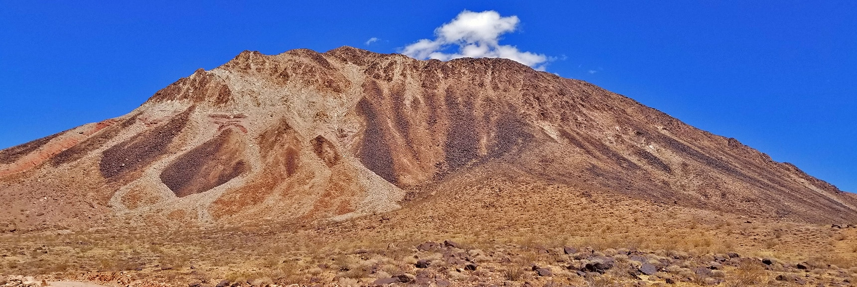 Western View of Lava Butte from Lava Butte Road | Lava Butte | Lake Mead National Recreation Area, Nevada