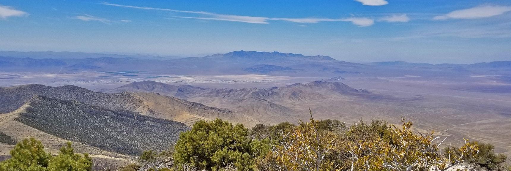 View Southeast from the South Summit | Potosi Mountain Spring Mountains Nevada