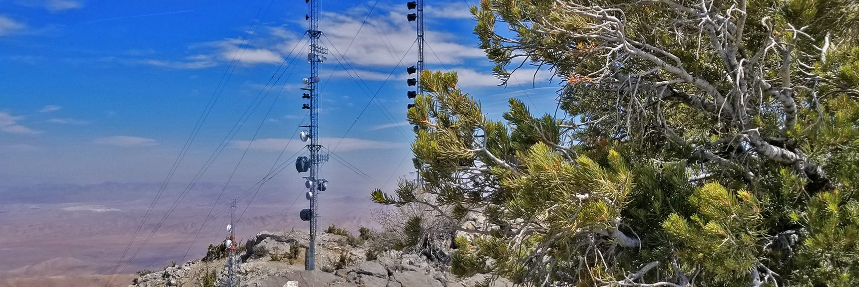 View Southeast from the North Summit. | Potosi Mountain Spring Mountains Nevada