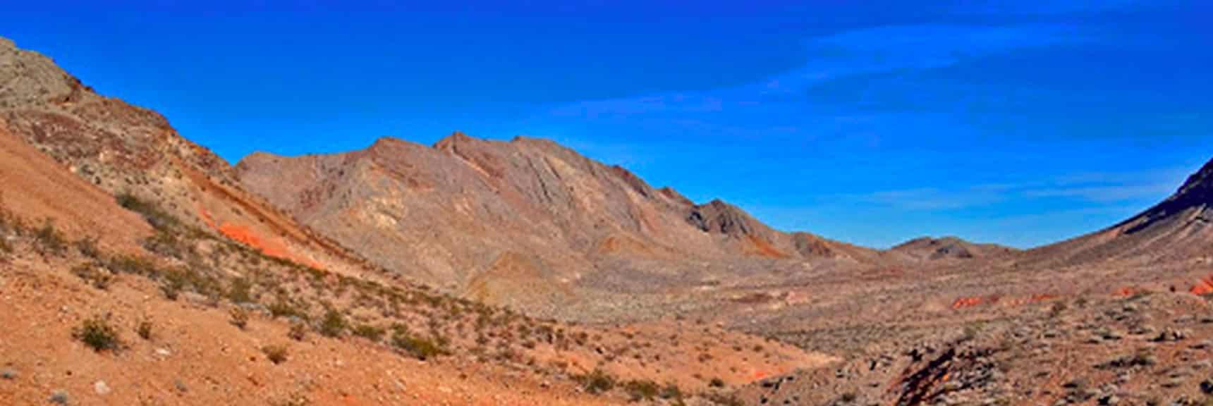 Sunrise Mountain West of Lake Mead National Recreation Area, Nevada