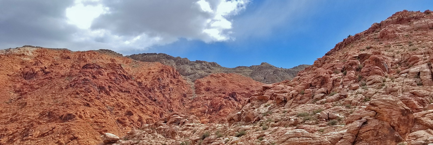 View East from Pink Goblin Pass Summit | Kraft Mountain Loop | Calico Basin, Nevada