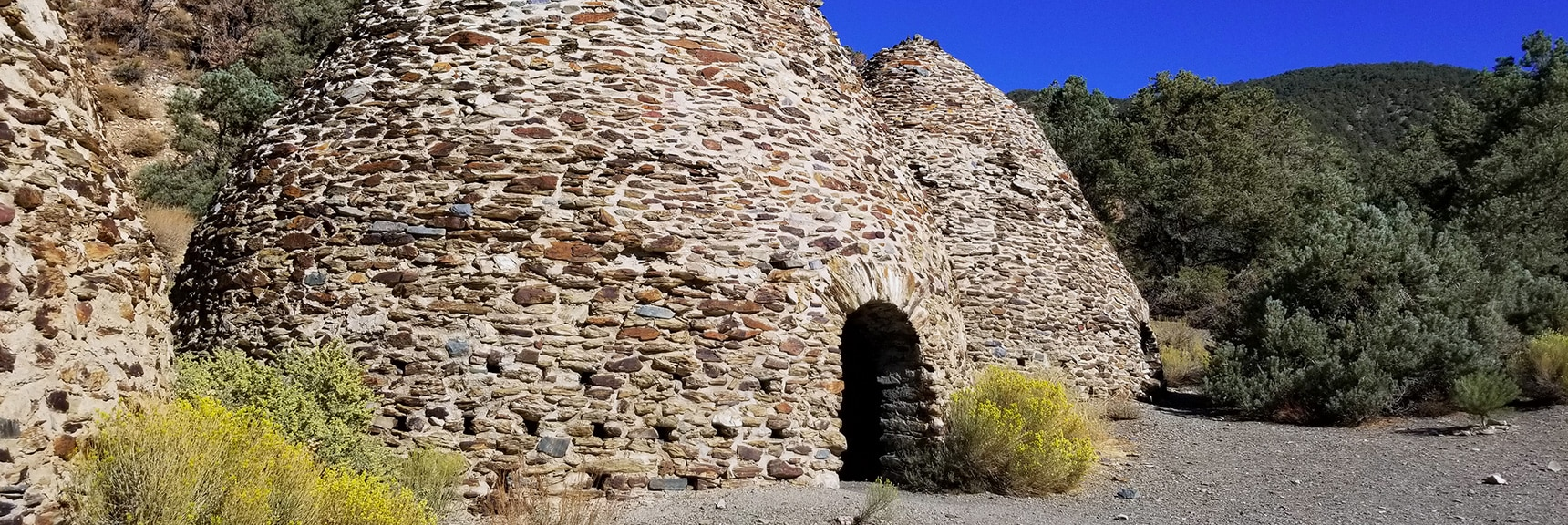 The Outside Entrance to a Charcoal Kiln | Charcoal Kilns | Death Valley, California