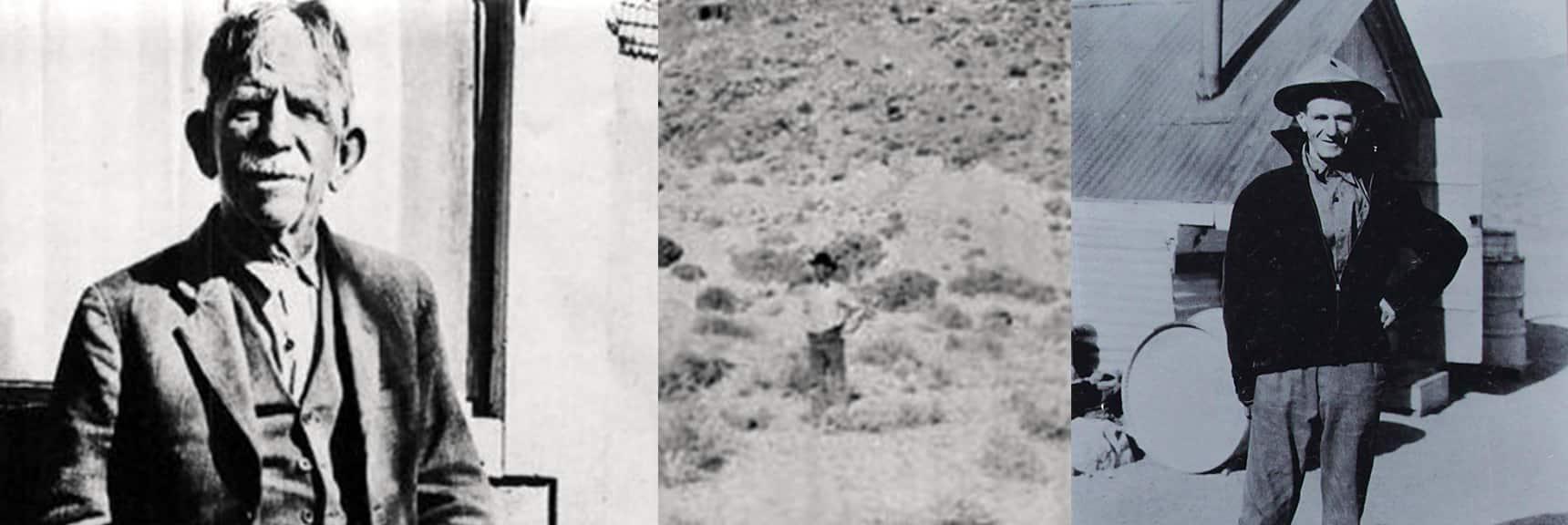 Shorty Harris & Pete Aguereberry | Harrisburg | Aguereberry Point Death Valley California