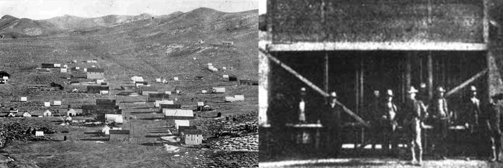 Town of Skidoo and Skidoo Club | Skidoo Mill | Death Valley, California
