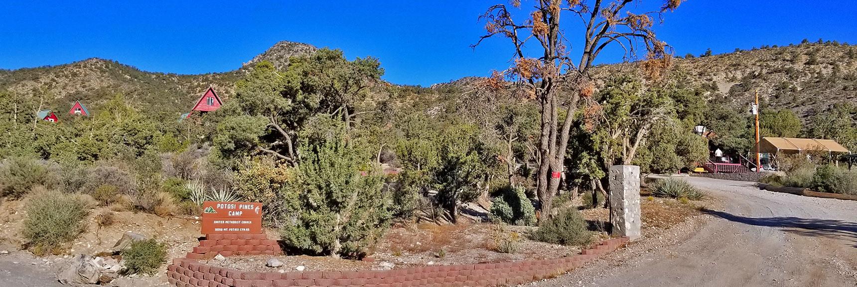 Potosi Pines United Methodist Camp   Potosi Mountain Northwestern Approach, Spring Mountains, Nevada